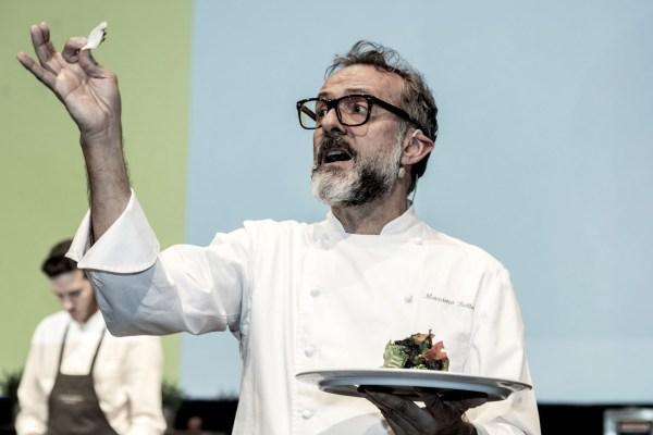 Massimo Bottura at the Chef Days