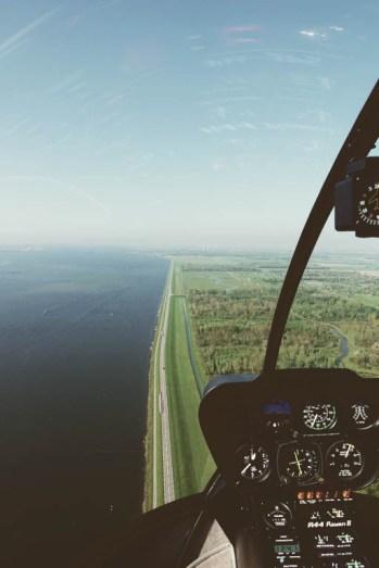 Helicopter Tour Flevoland026
