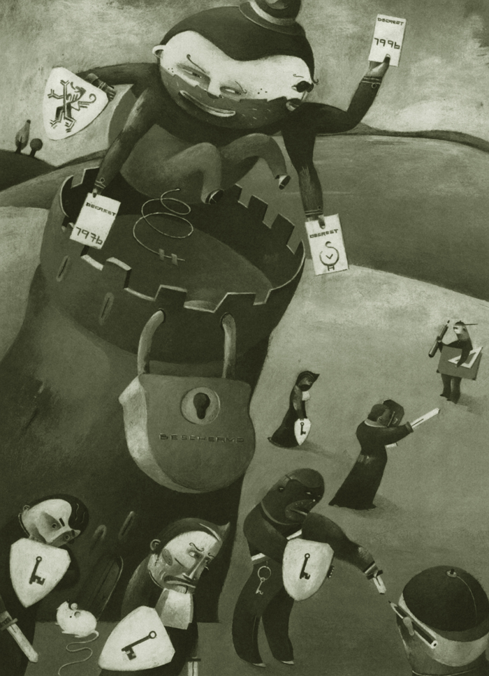Illustration for the urban development magazine T.R.O.S.