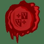 Het logo van de Cuyperscode bestaat uit een lakzegel met het wapen van Pierre J.H. Cuypers dat vrijwel zeker door zijn zwager J.A. Alberdingk Thijm ontworpen is in 1859. Ontwerp Wolthera.info 2006.
