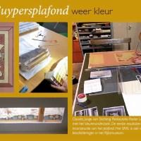 Cuypersplafond Cuypershuis | Lezing SRAL over de kleuren van Cuypers