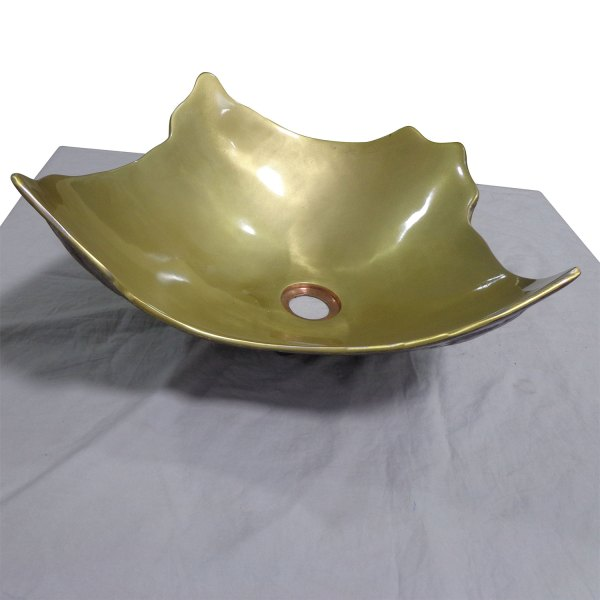 Cast Bronze Sink