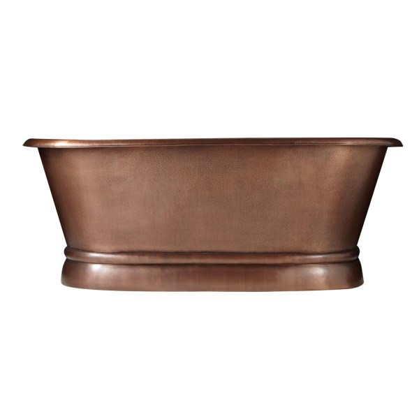 Pedestal Copper Bathtub
