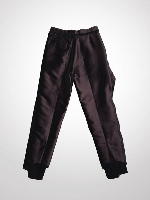 Haider Ackermann peplum trousers - runway 2010