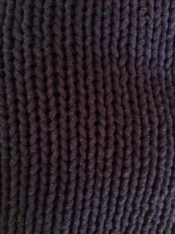 ann demeulemeester purple jumper detail