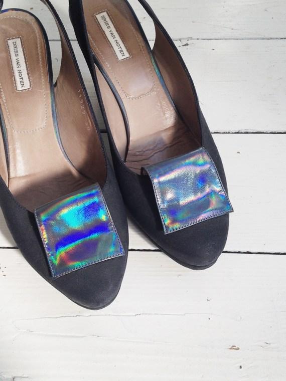 dries_van_noten_holographic_pumps_black_shoes