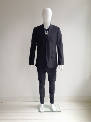 archive Helmut Lang black mens blazer