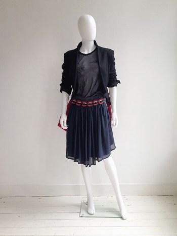 UnderCover by Jun Takahashi blue vampire skirt — fall 2013