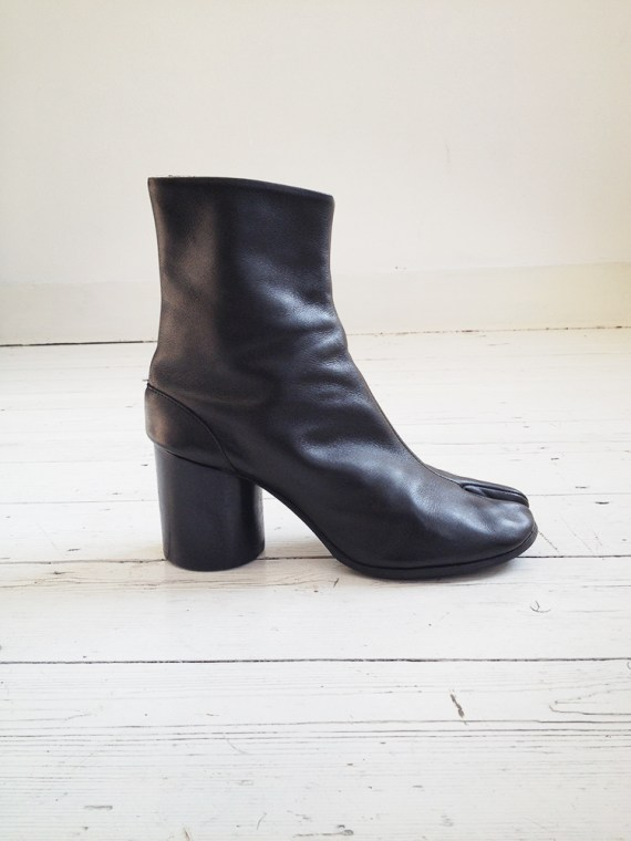 archive Maison Martin Margiela black tabi boots