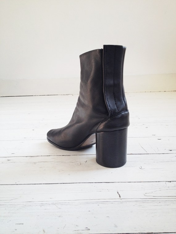 Maison Martin Margiela black tabi boots 40 – early 90s 6257