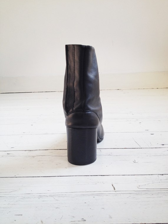Maison Martin Margiela black tabi boots 40 – early 90s 6260
