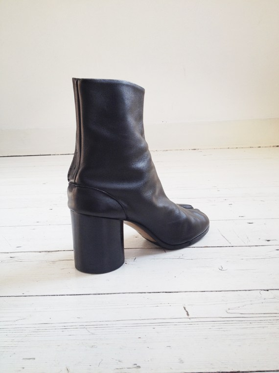 Maison Martin Margiela black tabi boots 40 – early 90s 6263
