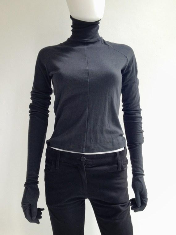 A.F. Vandevorst black gloved jumper – fall 2010