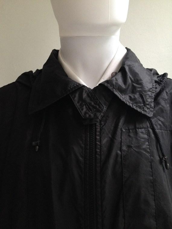 Issey Miyake Windcoat black oversized parka