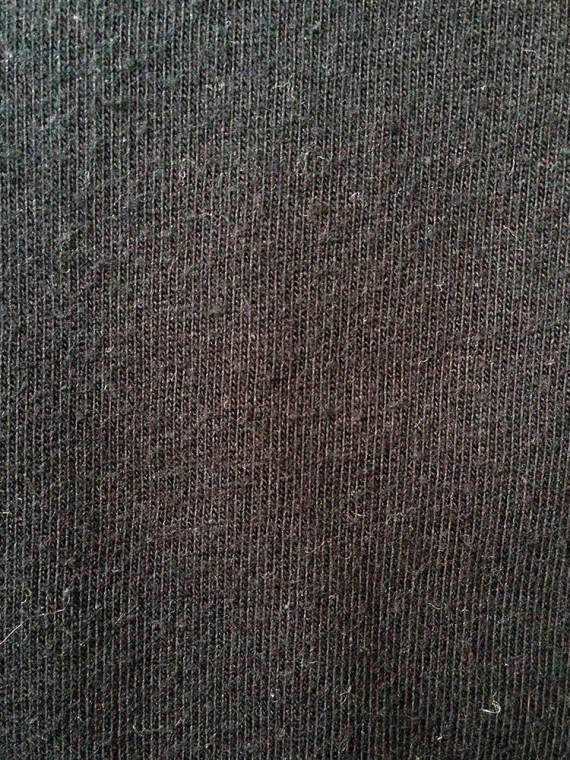 Maison MArtin Margiela 10 black mens jumper with stripe 0489 copy