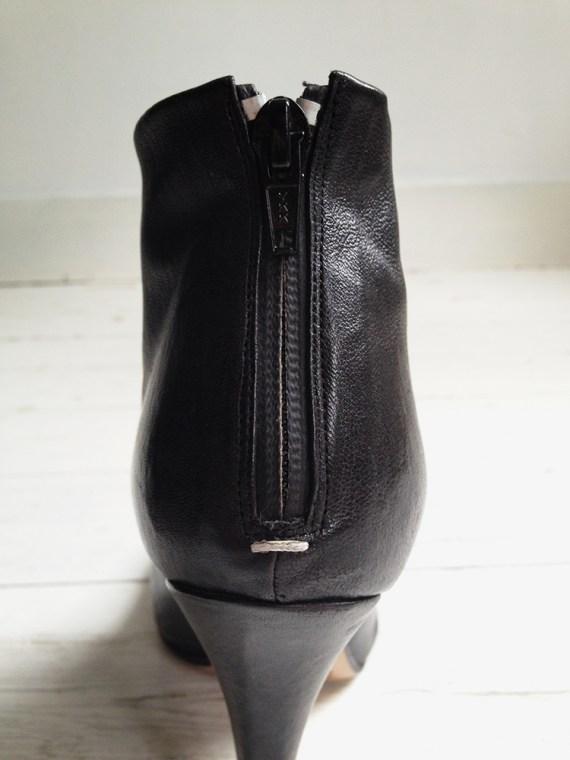 Maison Martin Margiela black tabi boots with stiletto heel 38 6650 copy