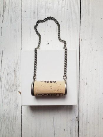 Maison Martin Margiela cork necklace — fall 1999