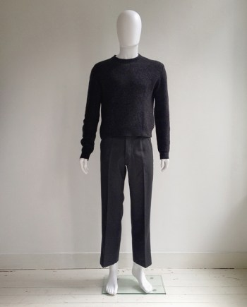 Maison Martin Margiela dark grey doll's jumper — spring 1999