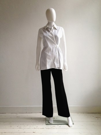 Maison Martin Margiela artisanal white shirt — spring 1995