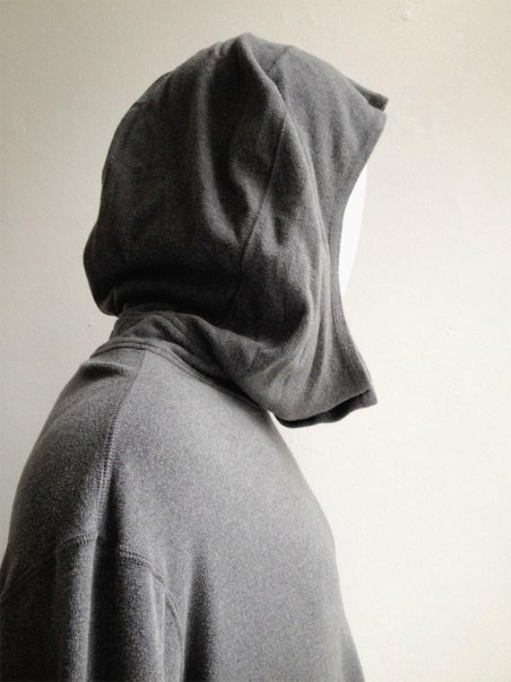 Yohji Yamamoto grey pocket jumper — 80s