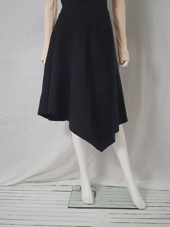 Comme Des garcons black halter dress 1987 archive piece 4454