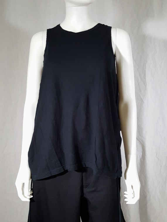 archive Ann Demeulemeester black jumper with extra armholes spring 1999 180215