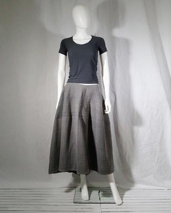 Maison Martin Margiela dark grey flat t-shirt — spring 1998