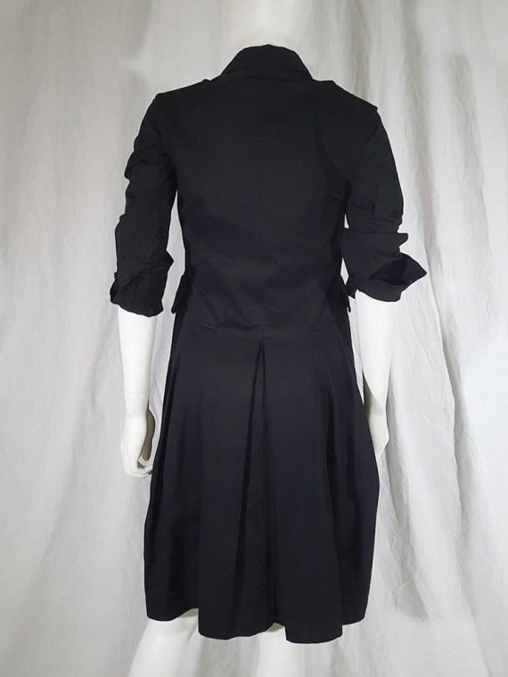 vintage Comme des Garcons Comme black school uniform dress 142203