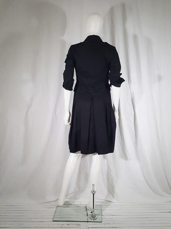 vintage Comme des Garcons Comme black school uniform dress 142210
