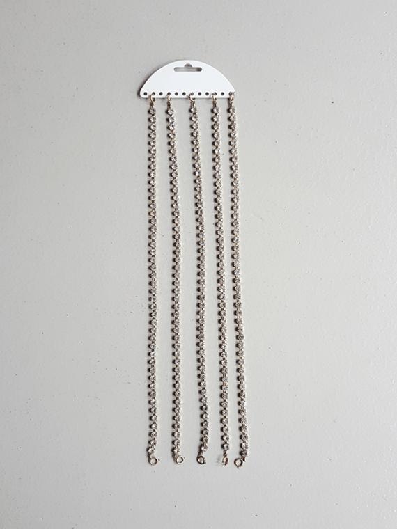 Maison Martin Margiela jewelry rack brooch — spring 2004