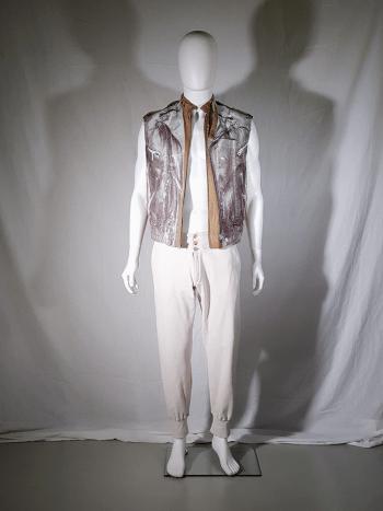 Maison Martin Margiela replica white 1905 jersey sweatpants