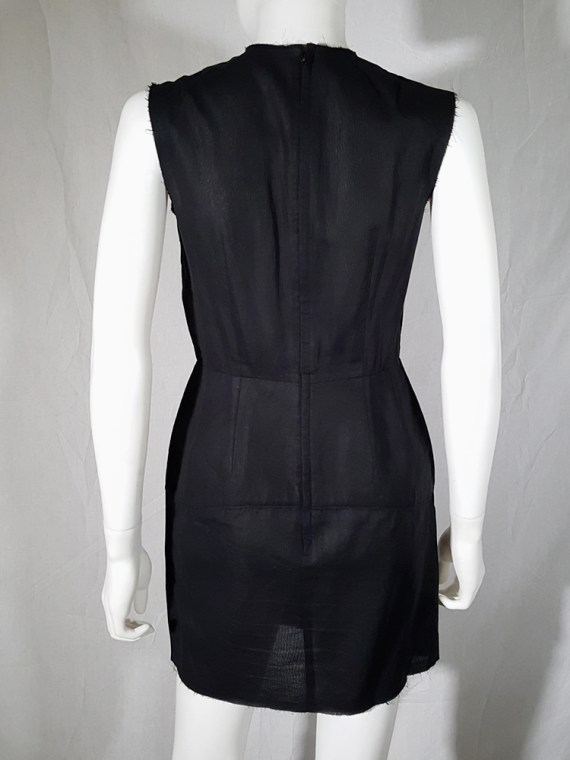 vintage Comme des Garcons black dress with padded hips fall 1998 182411