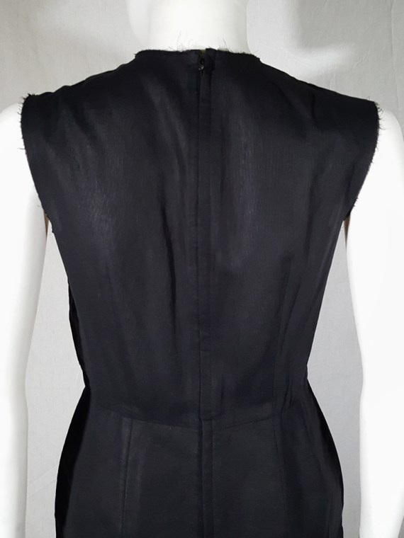 vintage Comme des Garcons black dress with padded hips fall 1998 182418
