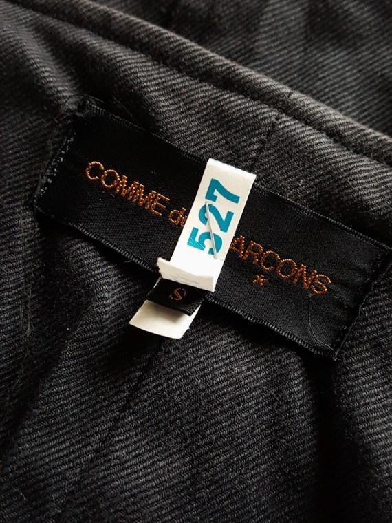 vintage Comme des Garçons black waistcoat spring 1987 121548_001