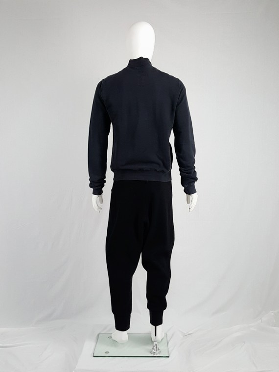 vintage Rick Owens DRKSHDW black zipper sweatshirt 112229