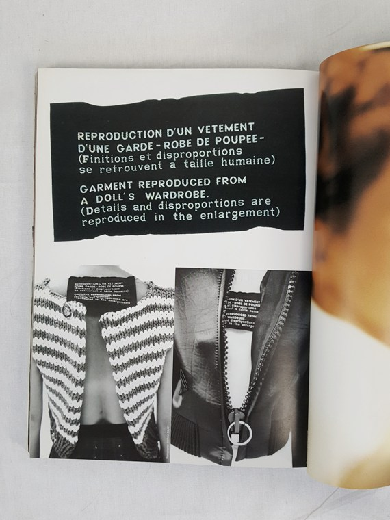 vintage Maison Martin Margiela 13 STREET book special edition volumes 1 and 2 november 1999 110316