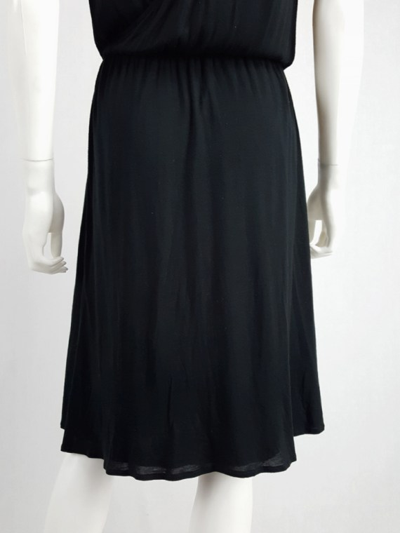 archival Maison Martin Margiela replica black 1970s day dress spring 2006 102517