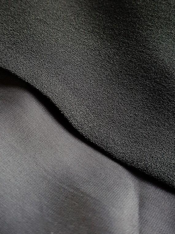 vintage Maison Martin Margiela black sideways worn skirt spring 2005 171255