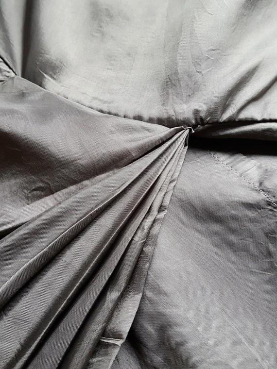 vintage Rick Owens VICIOUS brown asymmetric tunic or dress spring 2014 111441