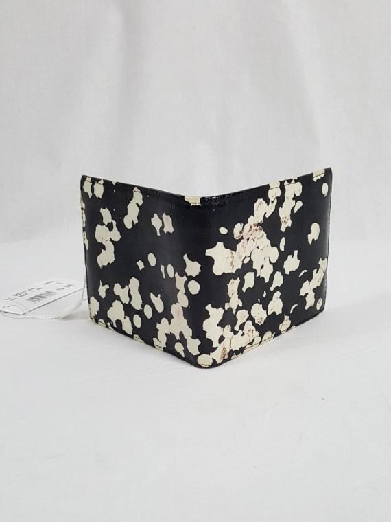 vintage Maison Martin Margiela black confetti wallet spring 2009 142705