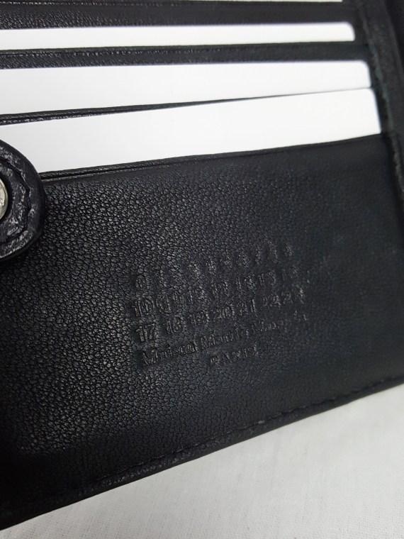 vintage Maison Martin Margiela black confetti wallet spring 2009 142836