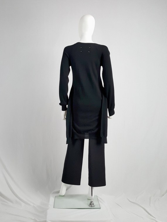 vintage Maison Martin Margiela black jumper with 4 sleeves fall 2007 152941