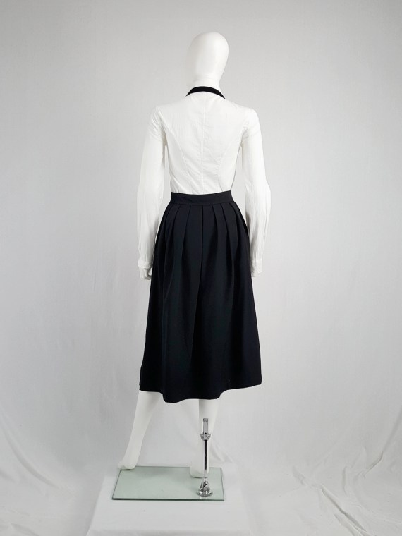 vintage archival Comme des Garcons black apron dress AD 1988120208