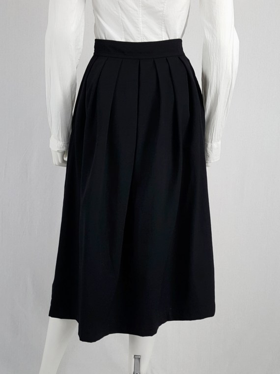 vintage archival Comme des Garcons black apron dress AD 1988120256(0)