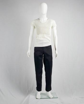 Comme des Garçons Homme straight trousers — AD 1993