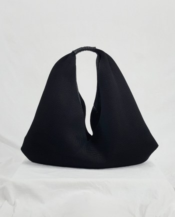Margiela MM6 black mesh japanese bento bag
