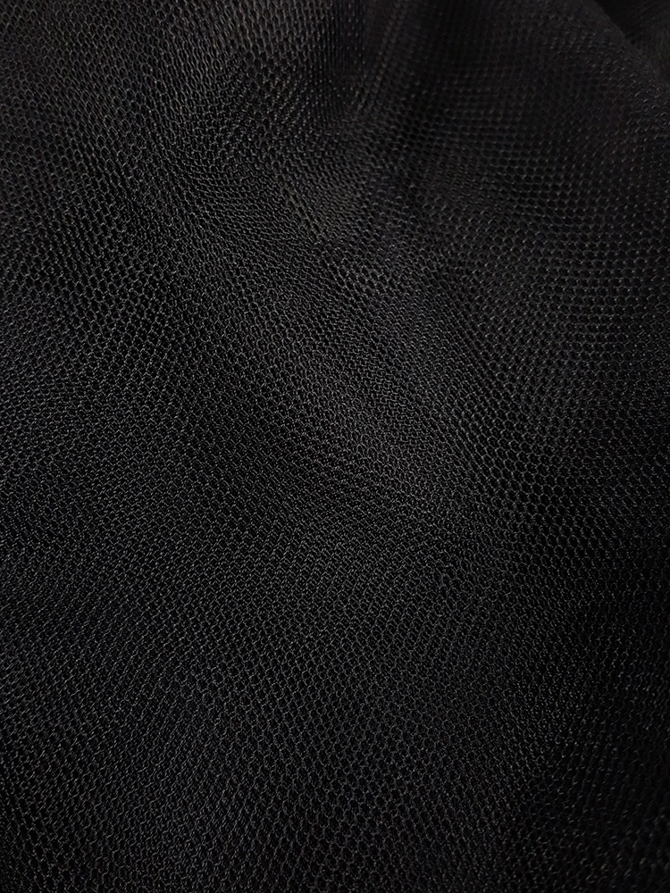 Comme des Garcons BLACK black tulle skirt — AD 2013