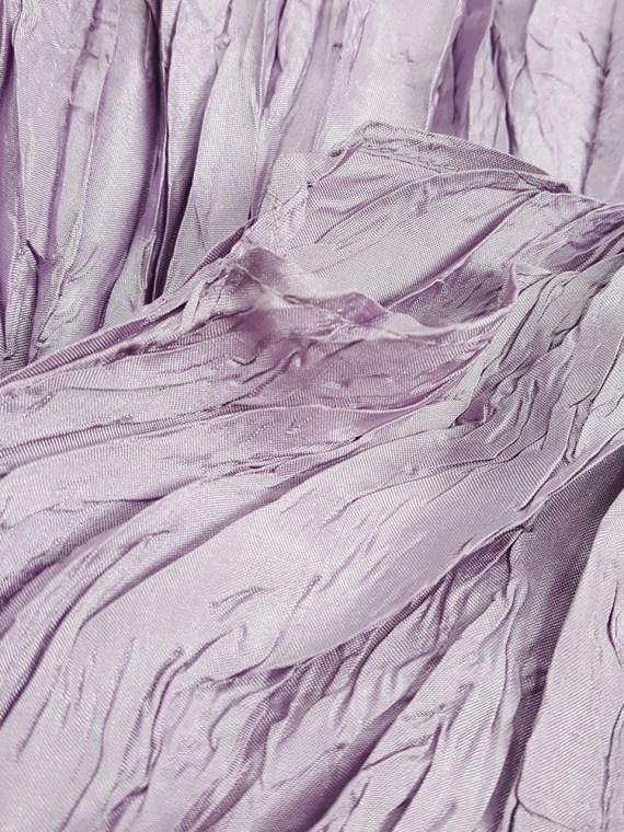 Issey Miyake Pleats Please creased purple jumper