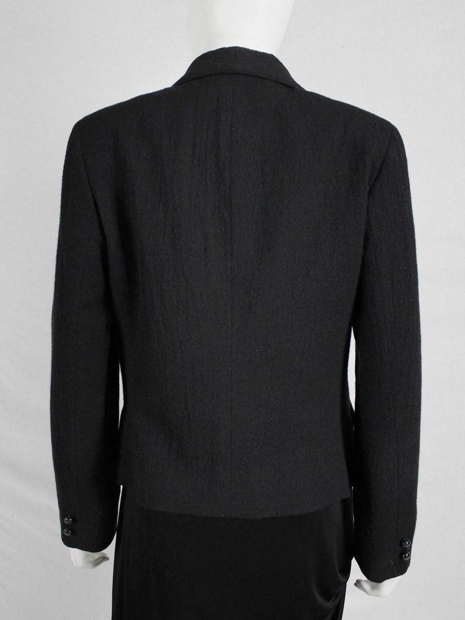 Maison Martin Margiela replica black 'tailored jacket of a ladies suit'