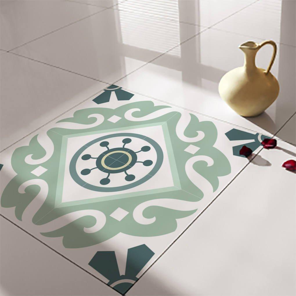 floor tile decals stickers vinyl decals vinyl floor self adhesive tile stickers decorative tile flooring removable stickers no 211